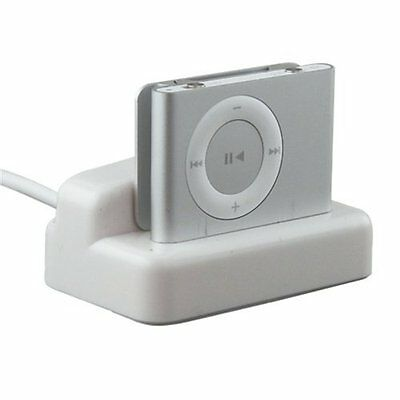Usb For Ipod Shuffle 2Nd Gen Charger Dock Cable White WS