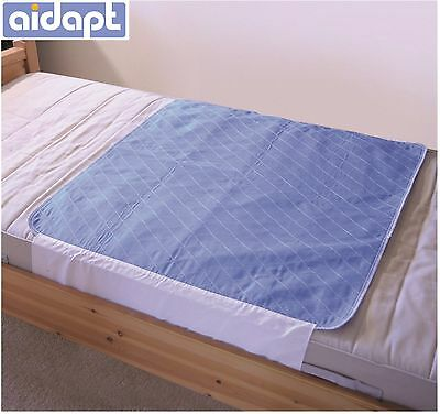 Washable Durable Bed Chair  Pads with Tucks, Incontinence, Bedwetting, Aid #842B