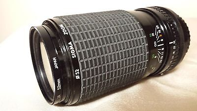 Sigma 80-200 mm f 4.5-5.6 Zoom Lens For Konica