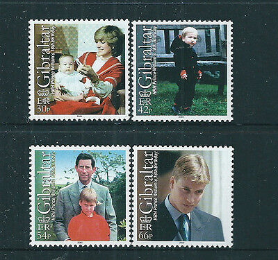 Gibraltar 2000 Prince William 18th Birthday set of 4 unmounted mint