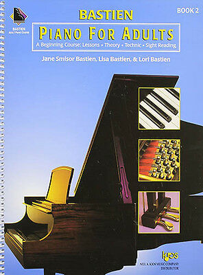 KP2 - Bastien Piano for Adults Book 2 BK/CD