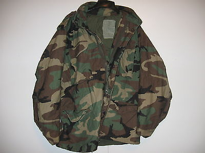 Genuine Us Military M65 Field Jacket M-65 Cold Weather Coat Medium Regular 7-C