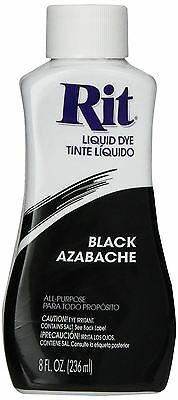 Rit Liquid Clothing, Fabric, Plastic All Purpose Dye Black Ritdye