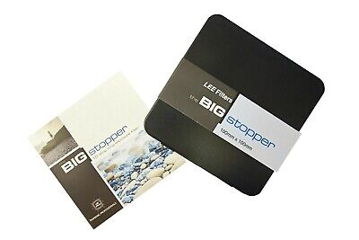 Lee Big Stopper 10 stop Filters 100x100mm Glass Filter - BS10100U2