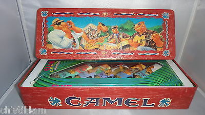 JOE CAMEL - Club Camel 5 Lighter Set - New in Box with Collectable Tin From 1992