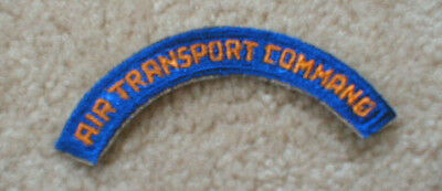 Original WW2> Army Air Corps AIR TRANSPORT COMMAND tab / patch