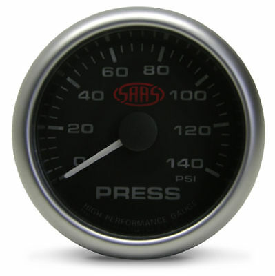 SAAS Black Oil Pressure Gauge 2 5/8 electrical multi color LED