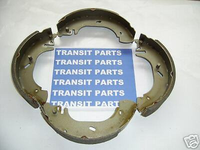 FORD TRANSIT BRAKE SHOES FWD 2000-2006 NEW