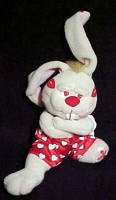 Meanies Valentines GOT LUCKY Meanie BUNNY With Tag from old store stock 124