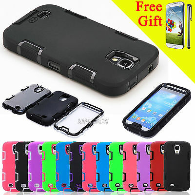 New Hybrid Impact Shockproof Hard Case Cover for iPhone & Samsung Galaxy Phones