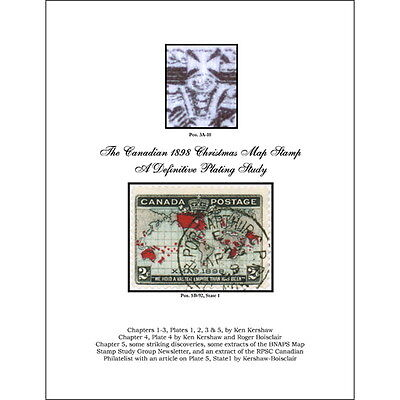 The Christmas Map Stamp of 1898: A Definitive Plating Study, Vol. 1-4