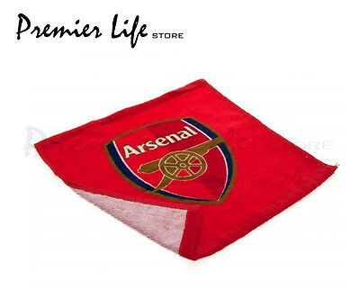 Arsenal FC Face Cloth/Flannel - Red