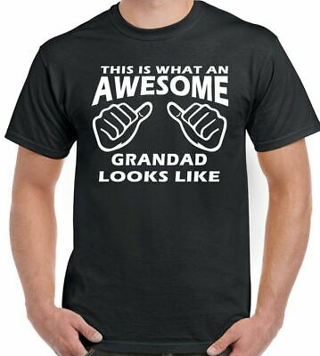 This Is What An Awesome Grandad Looks Like - Mens Funny Father's Day T-Shirt