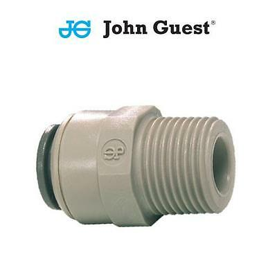Imperial Male Thread Push In Straight Adaptors Connectors John Guest Air / Water