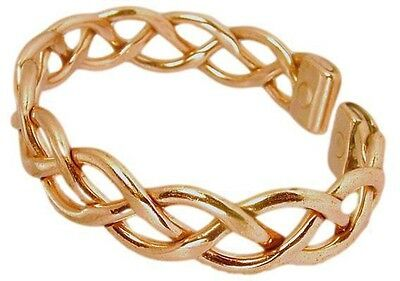 Womens Solid Copper Magnetic Cuff Bracelet Fran Small Top Seller