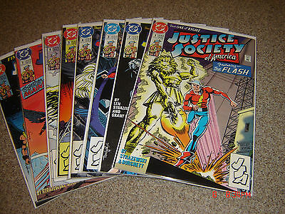 Justice Society Of America Limited Series 1-8