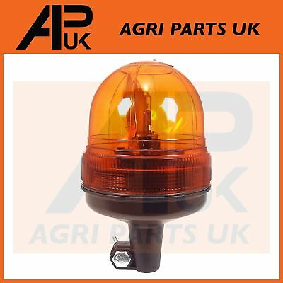 12v Flashing Warning Beacon Case IH Ford New Holland John Deere Tractor Din Pole