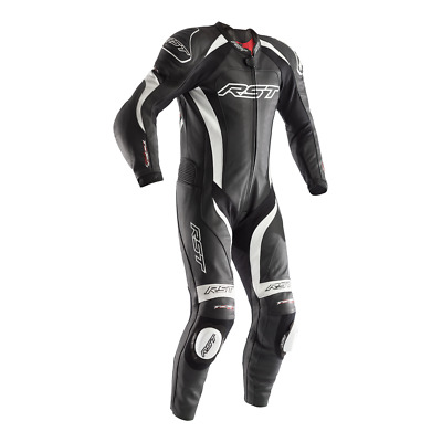 Rst Tractech Evo 2 Leathers One Piece Motorcycle Race Suit White 1415