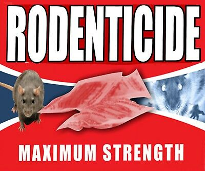 Gee Tac This Will Kill All Your  Rat Mouse/ Rodent /vermin Bait Poison 25% Free