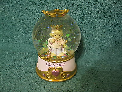 Precious Moments Musical Snow Globe/2003/Tune: Waltz of the Flowers (item# S402)