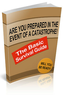 The Basic Survival Guide  + 10 Free eBooks With Resell rights ( PDF )