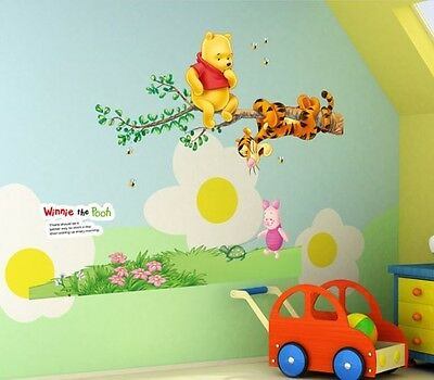 xxl aufkleber winnie pooh disney wandtattoo fensterbild. Black Bedroom Furniture Sets. Home Design Ideas