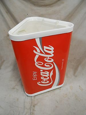Coca-Cola Coke Soda Cooler Ice Chest Store Advertising Display Wheeled Container