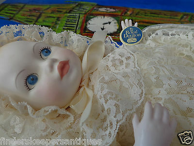Royal Doulton Nisbet Prince William Of Wales 1982 Royal Baby Doll