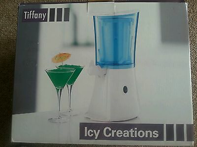 Tiffany Icy Creations Drinks/cocktails Maker. Easy Pour Tap. Excellent Condition
