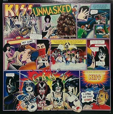 KISS / UNMASKED LP w/Insert Orig JAPAN ISSUE