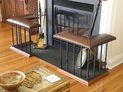 Club Fender Fireplace Bench - Corner Set with Classic Baluster package