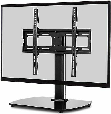 "Table Top Replacement TV Stand Pedestal Base Fits 26-37"" LCD LED Plasma Screens"
