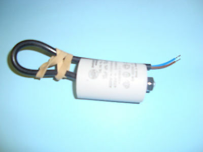 10uF Motor Run Capacitor 450V, Twin Cable