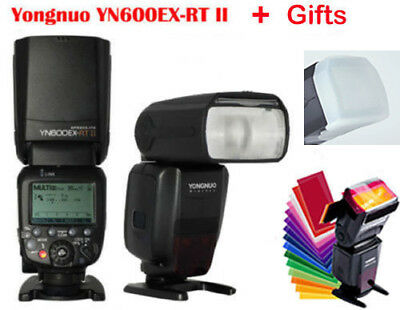 Yongnuo YN600EX-RT II HSS Wireless Flash Speedlite TTL For Canon.