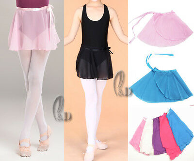 AU SELLER Girls Ladies Ballet Dance Chiffon Warp Skirt Skate Dress da011