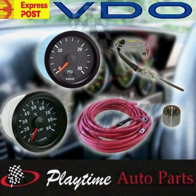 Vdo Pyrometer Pyro Egt Exhaust Gas Temperature Gauge And Boost 30 Psi Gauge