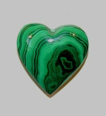 Malachite Heart 24x24mm (8220)