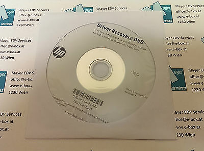 Driver Recovery DVD Kit 736382-B23 for HP Z230