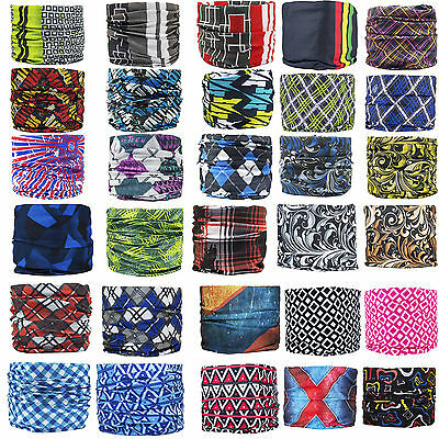 Multi use Biker Cycling Balaclava Neck Tube Scarf Snood Face Mask Warmer Bandana