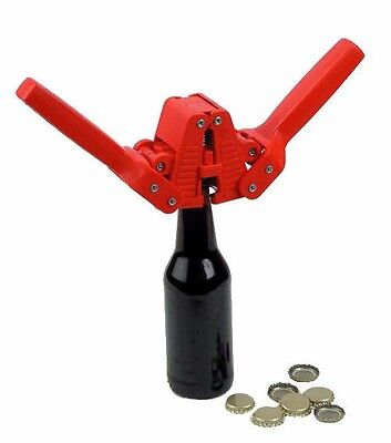 Bottle Capper Set with 55 Caps for Beer and Homebrew