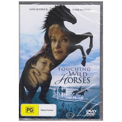 DVD TOUCHING WILD HORSES Jane Seymour Mark Rendall 2002 Drama Horse R4 [BNS]