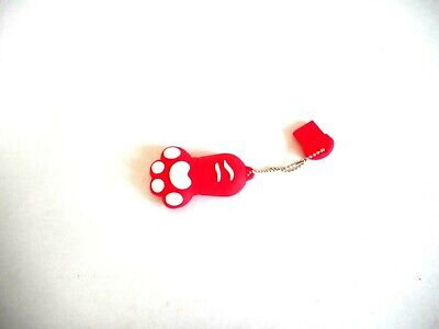 Flash Drive USB Memory Stick Pen New 8G Puppy Paw Pet Look Rubber School Novelty