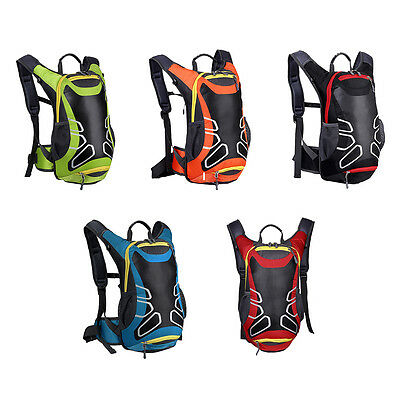 Outdoor Waterproof Riding Cycling Bicycle Bike Bag Camping Backpack Rucksack