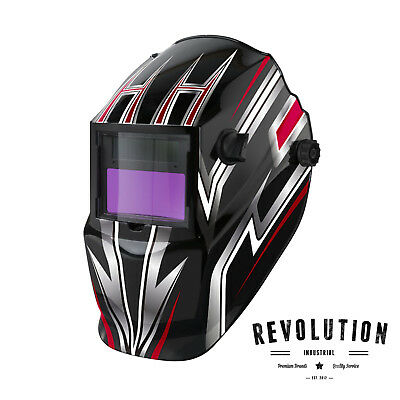 Lincoln Electric Powercraft Titan Solar Powered Auto-Darkening Welding Helmet -