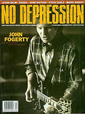John Fogerty cover No Depression magazine 2007 Creedence Clearwater Revival