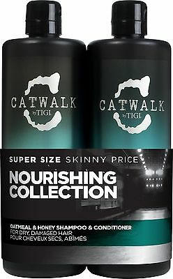 TIGI Catwalk Oatmeal and Honey Shampoo & Conditioner 750ml Tween