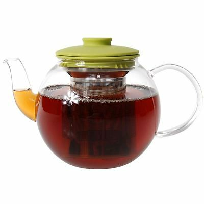 Zuhause - Mai Cha Glass Tea Pot with Stainless Steel Infuser 1Ltr