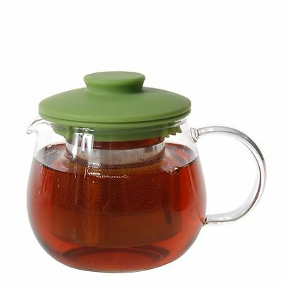 Zuhause - Mai Cha Glass Tea Pot with Stainless Steel Infuser 400ml