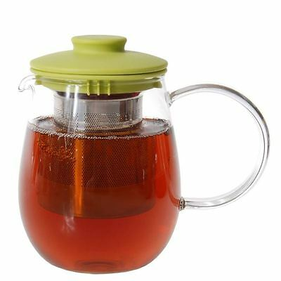 Zuhause - Mai Cha Glass Tea Pot with Stainless Steel Infuser 550ml