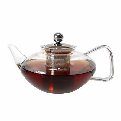 Zuhause - Chin Chai Glass Tea Pot with Stainless Steel Infuser 800ml